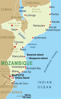 Mozambique Map - Click to see Map