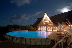 Inhambane Accommodation - Flamingo Bay Water Lodge